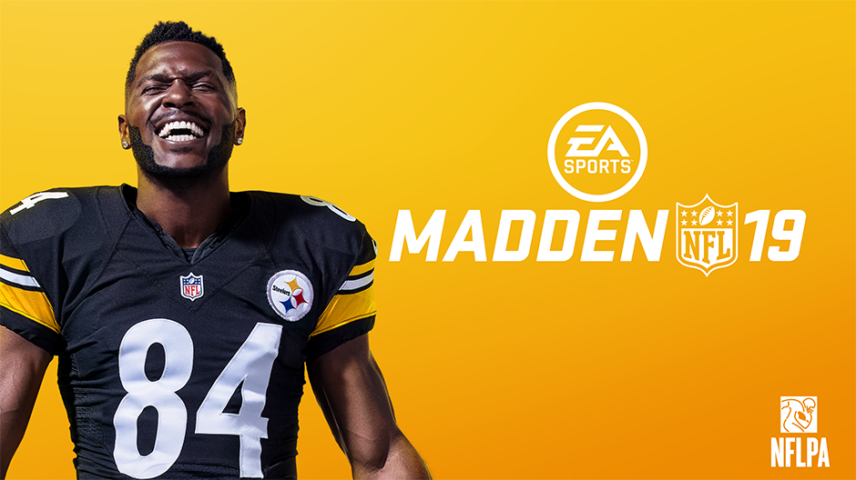 Madden NFL 19: Pittsburg Steelers' WR Antonio Brown goes on cover