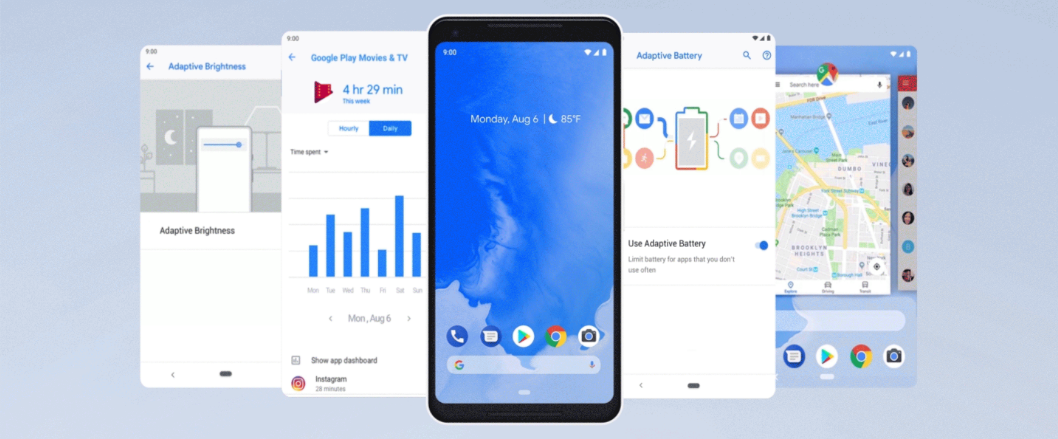 40 new features Android 9 Pie gets to your Android