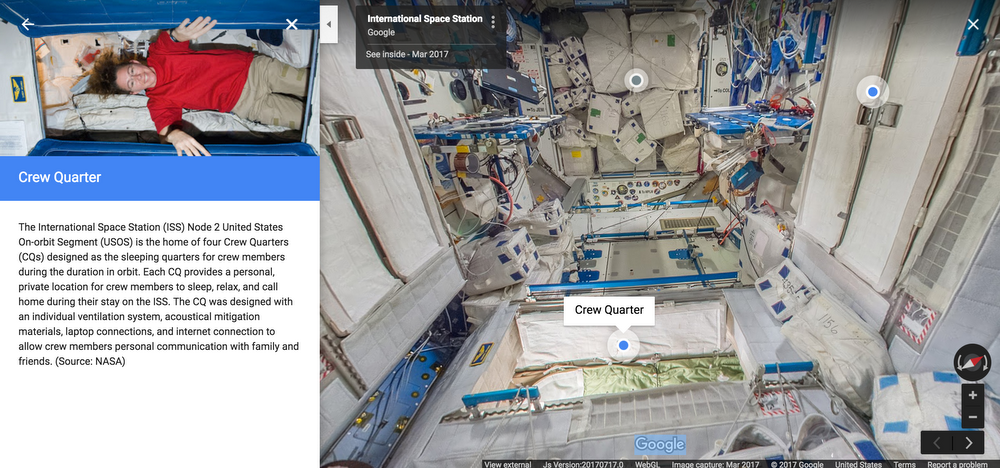 How life's at the International Space Station: Experience it in 360-degree