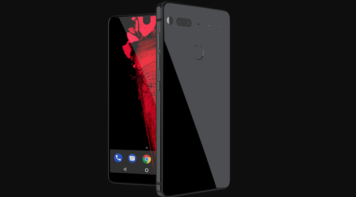 Essential phone's production has been stopped