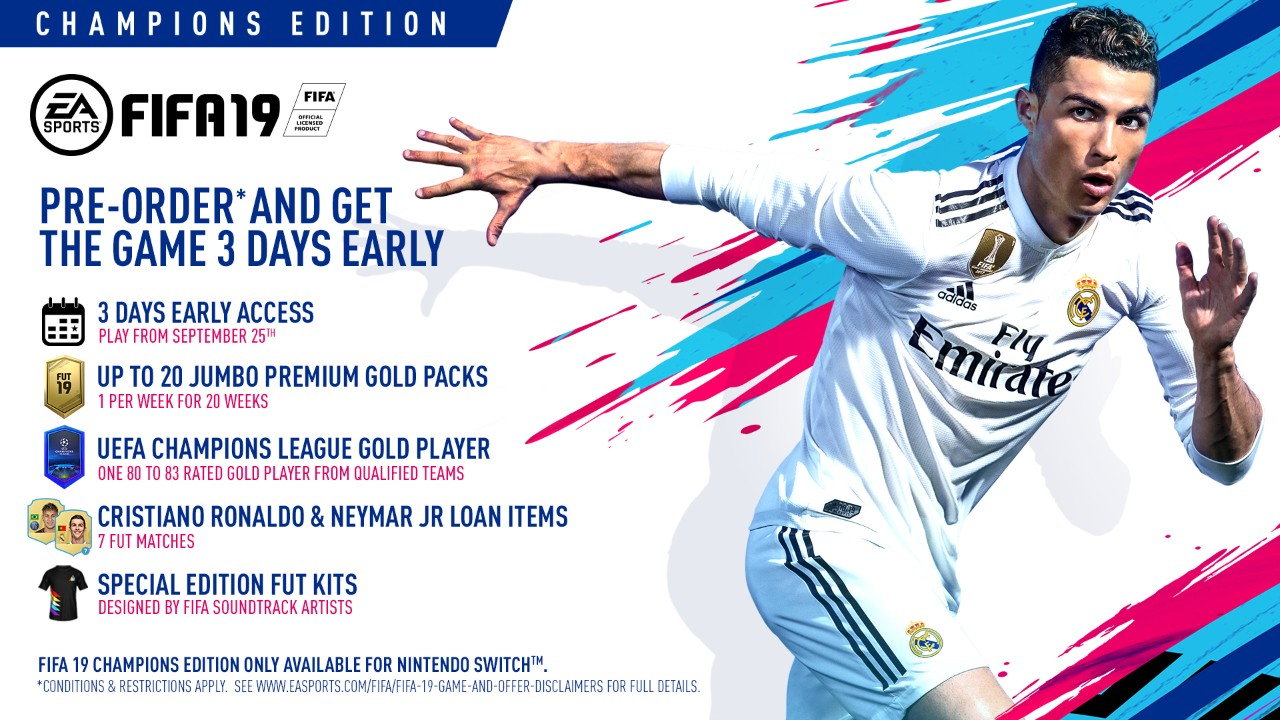 FIFA 19: Pre-order, How to get Early Access and How much does it cost?