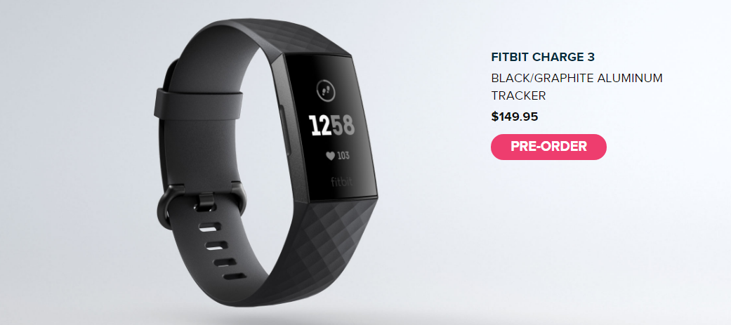 Fitbit Charge 3 Launched: Price, preorder and accessories