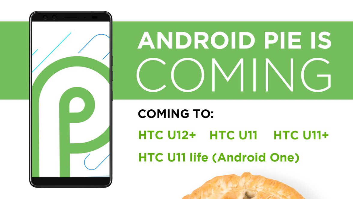 HTC announces the devices receiving Android 9 Pie Update