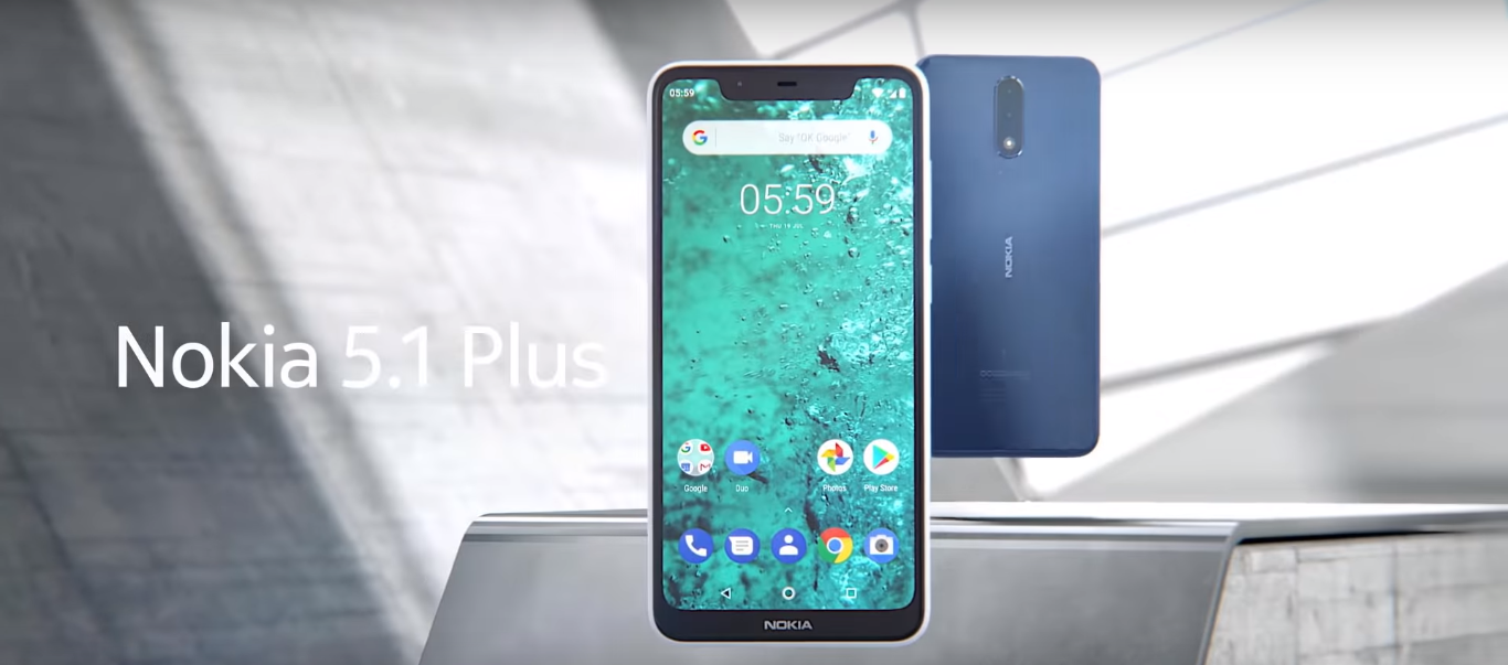 Nokia 5.1 Plus Launched: Price, Features and Availability