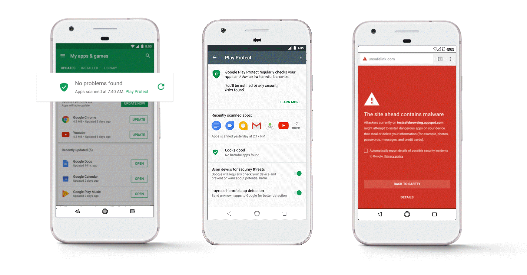 How Google Play Protect keeps your Android secure