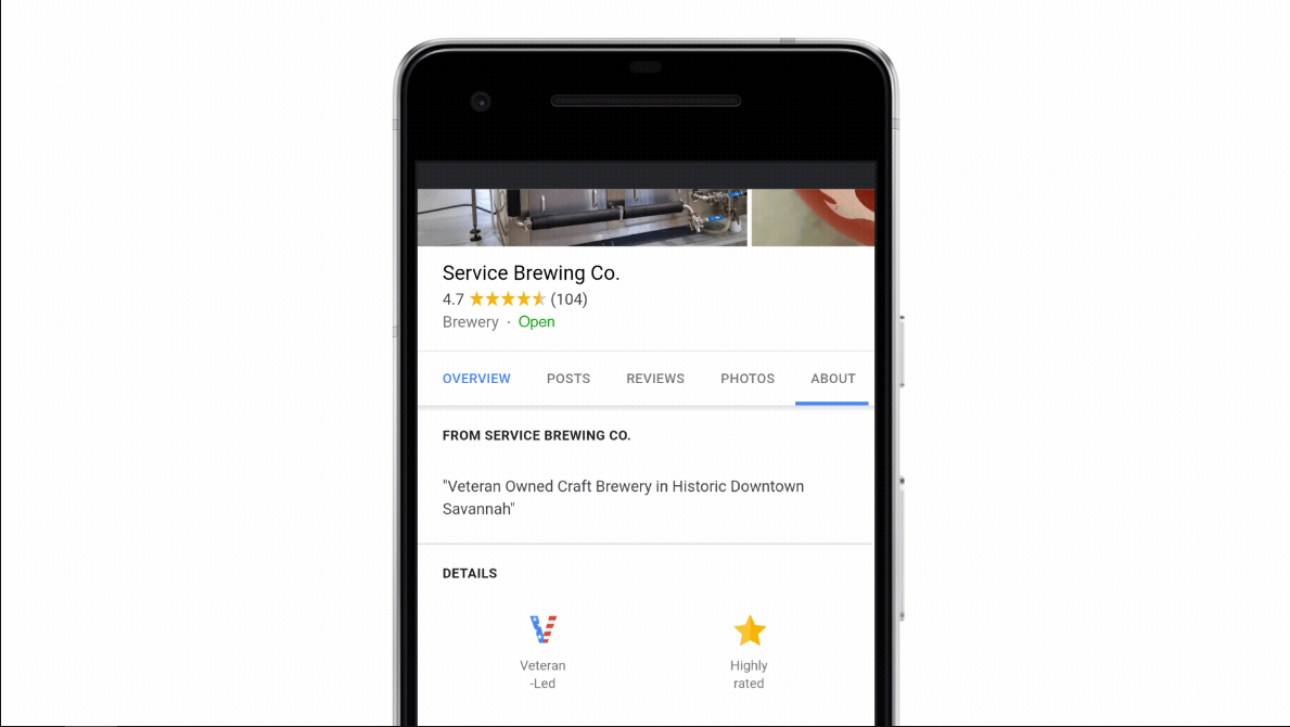 How to use Google's veteran job search and edit veteran business listings