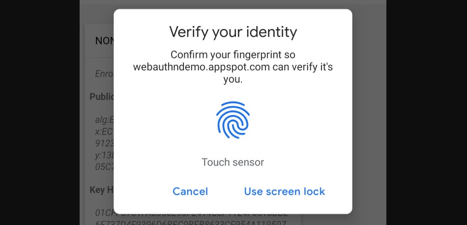 Google adds fingerprint support for Android and Mac on Chrome 70 (Beta)