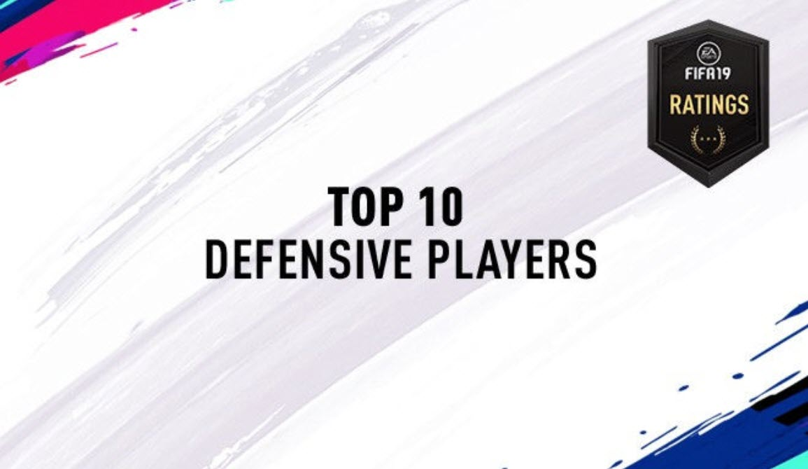 FIFA 19: 10 best defenders via player ratings