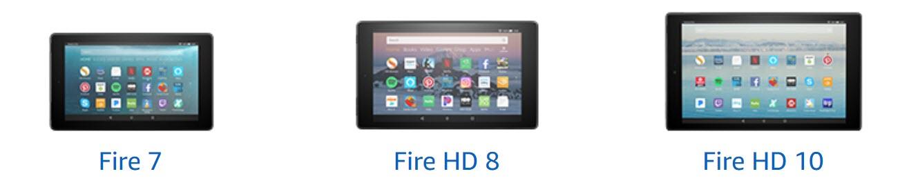 Amazon Fire 7 vs Fire HD 8 vs Fire HD 10: 12 talking points
