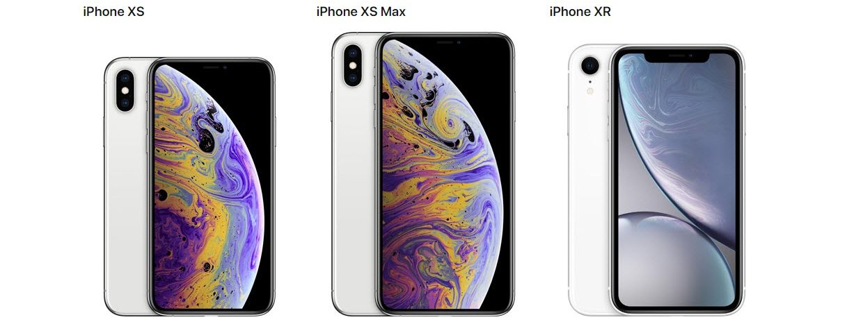 iPhone XS vs iPhone XS Max vs iPhone XR: 10 similarities and differences