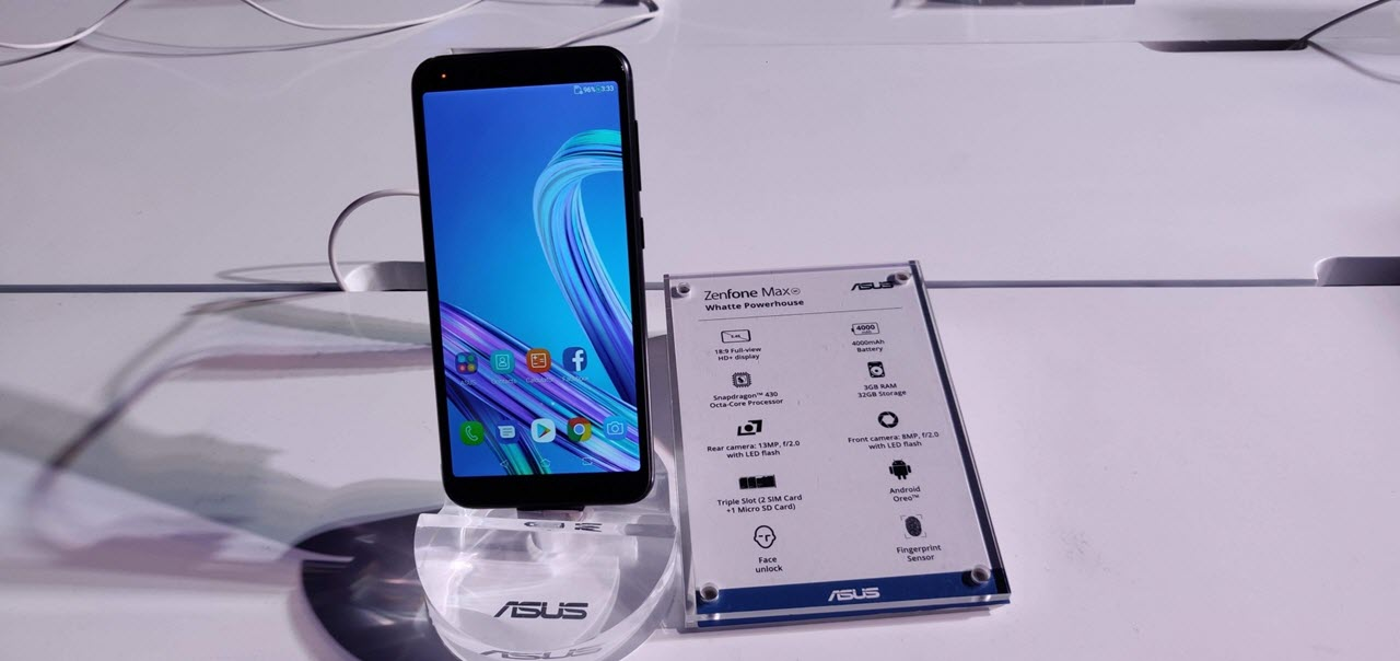 Asus ZenFone Max M1 and Lite L1 launched at INR 7499 and 5999