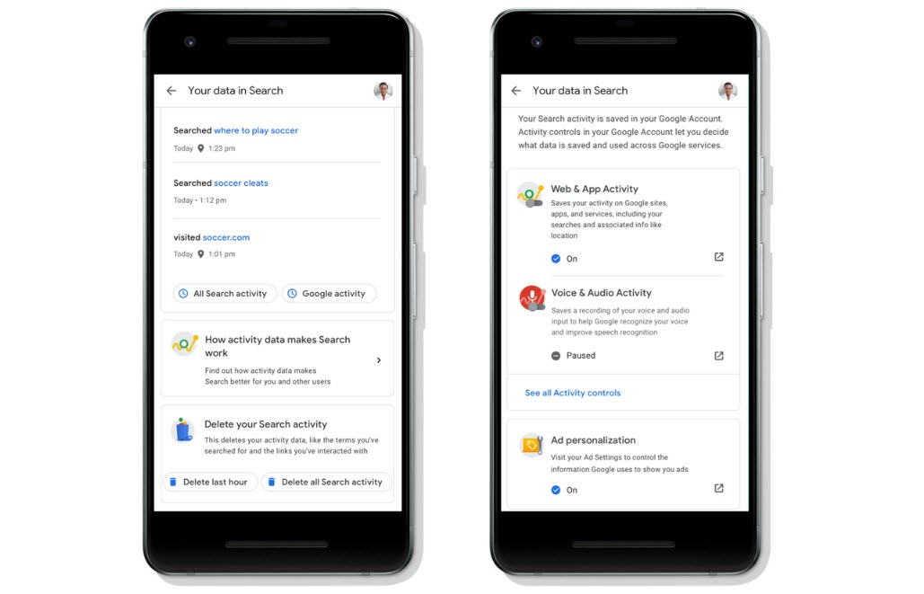 Google is making it easier for users to control their privacy while searching