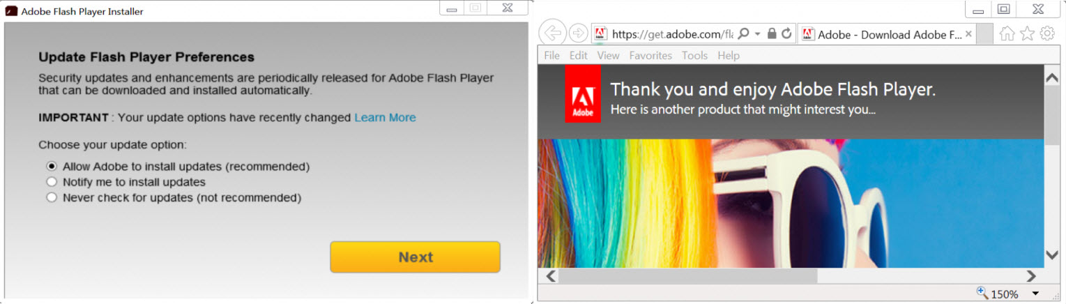 Hackers are cryptojacking your computer via Adobe Flash update
