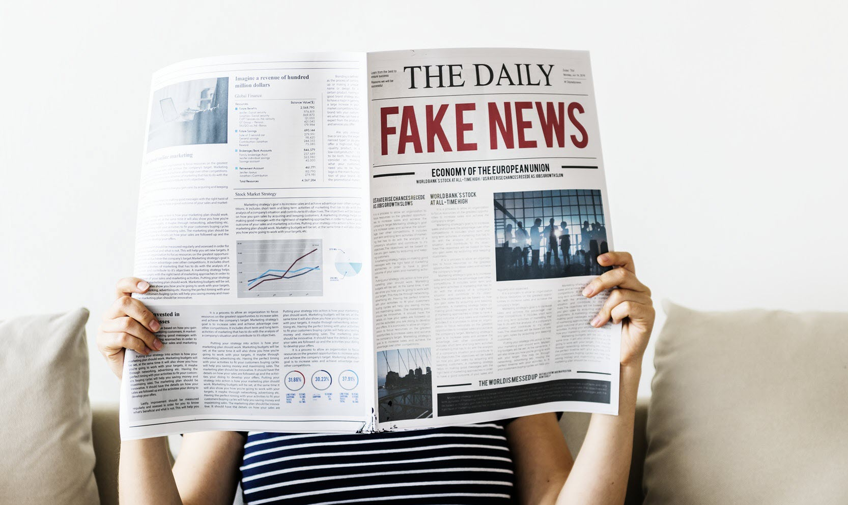 This machine learning algorithm might help battle fake news