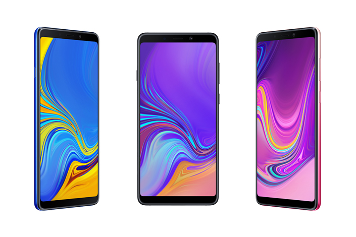 Samsung Galaxy A9 with quad camera setup at the rear unveiled