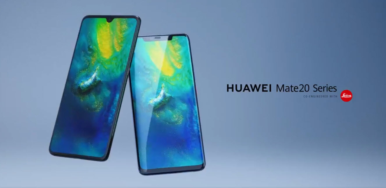 4 Huawei Mate 20 series phones with Leica 3-lens camera: Price, specs