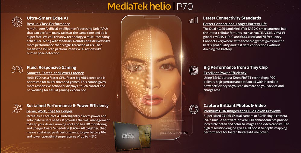 MediaTek Helio P70 processor launched: Features enhanced AI engine