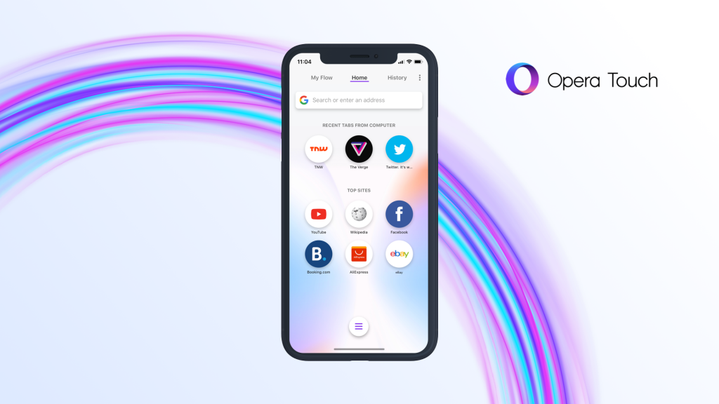 Opera Touch launched for iOS with Ad blocker and cryptojacking protection