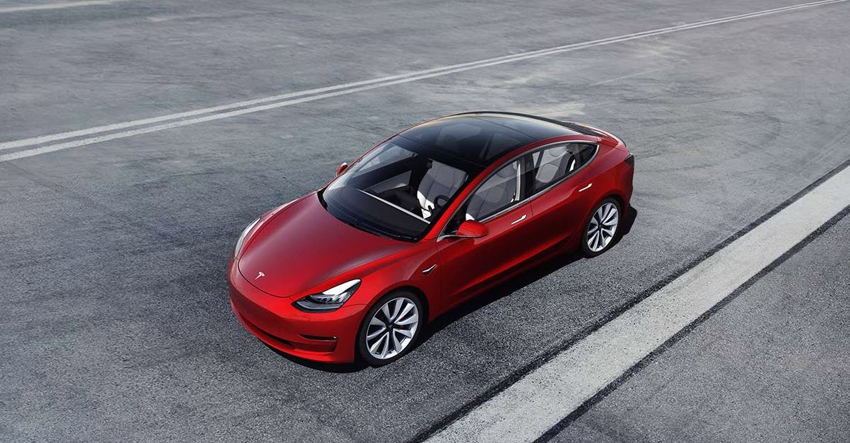 Tesla Model 3 with mid-range battery launched at $45,000