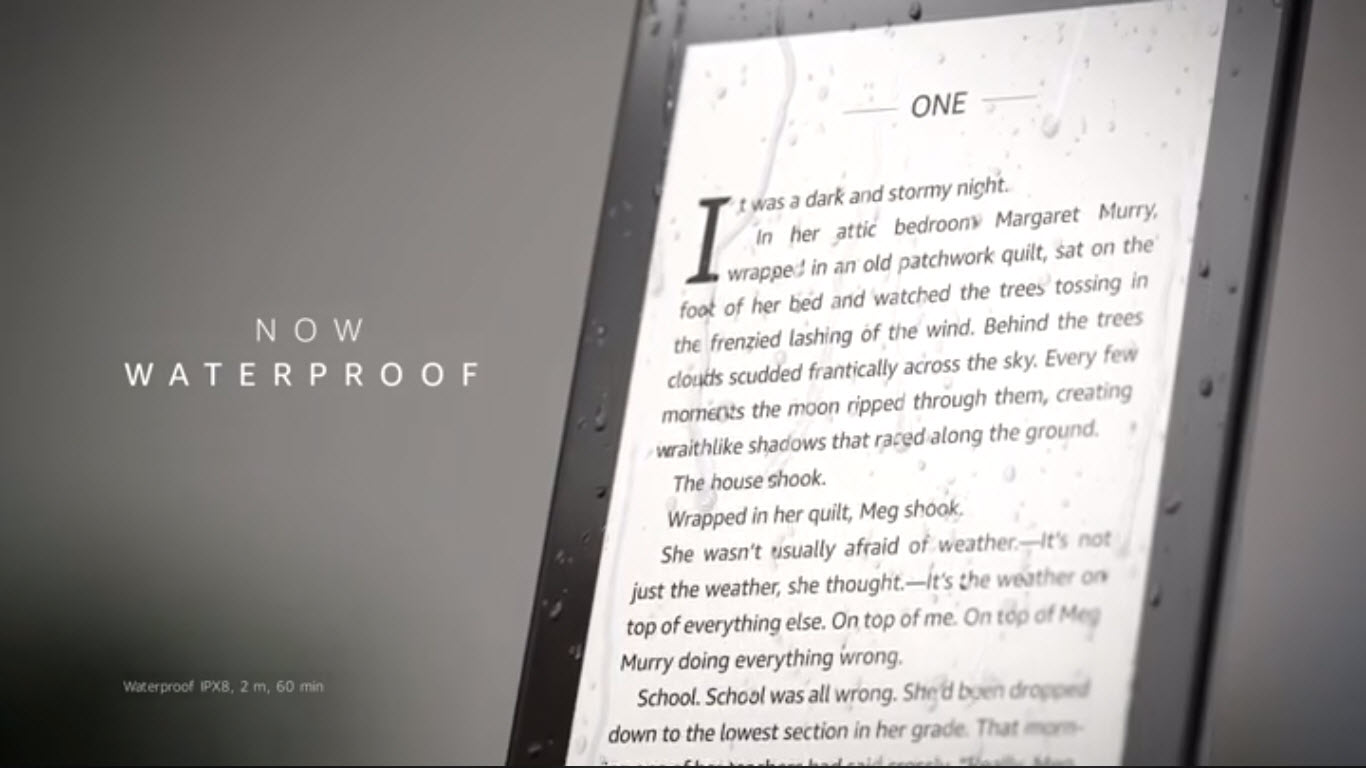 waterproof kindle paperwhite-2 | Candid Technology
