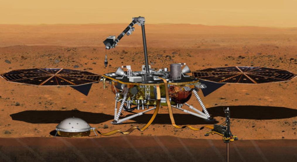 NASA InSight spacecraft lands on Mars successfully