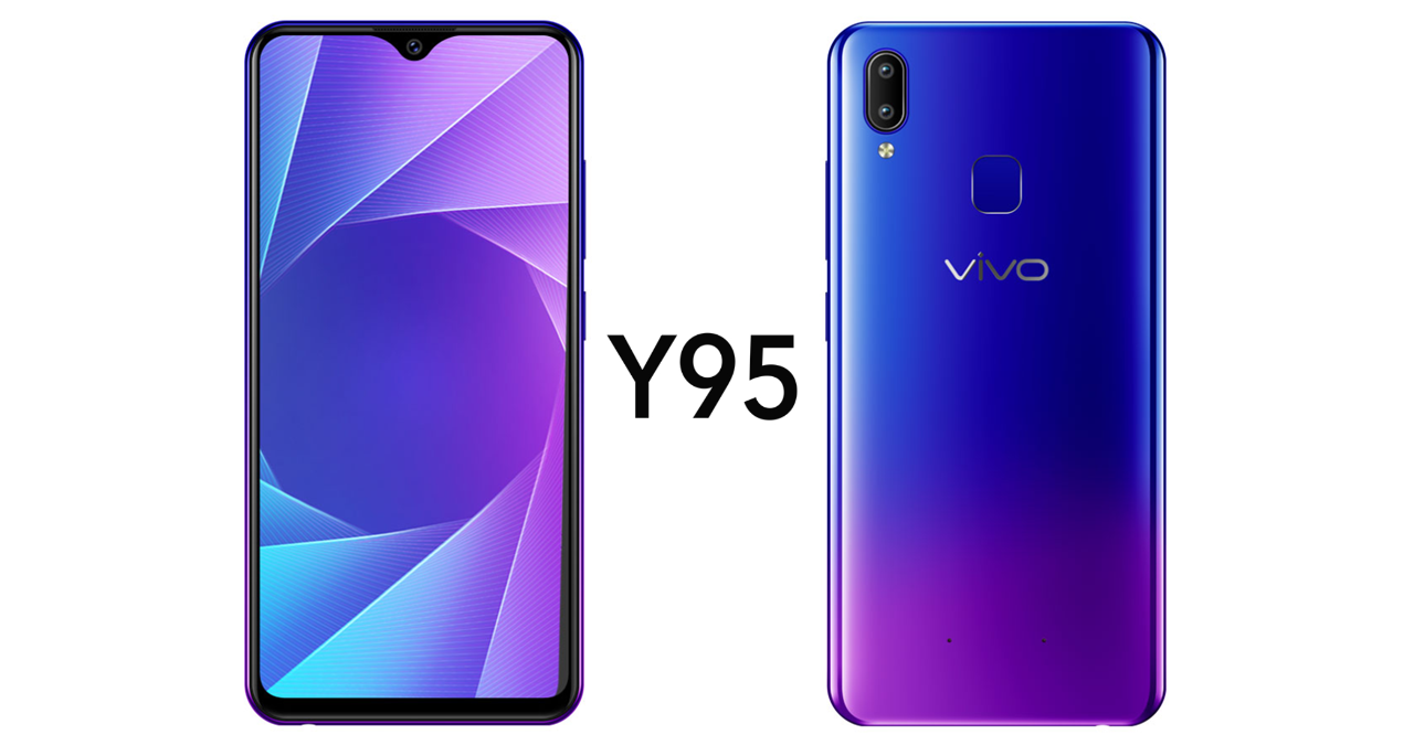 Vivo Y95 with waterdrop notch unveiled in India at INR 16,990