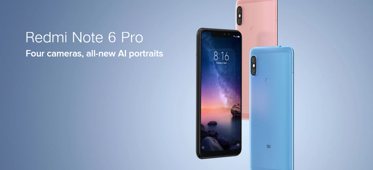 Xiaomi Redmi Note 6 Pro launched in India starting at INR 13,999