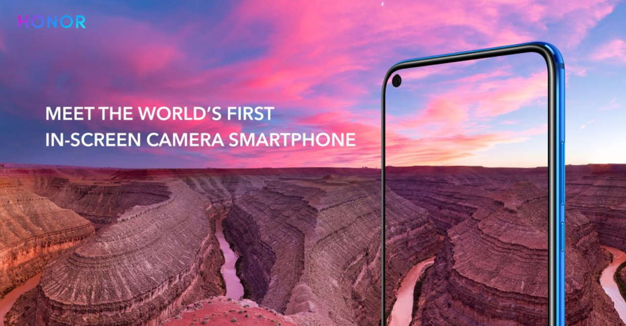 Honor View 20 with in-screen front camera and 48MP rear camera unveiled