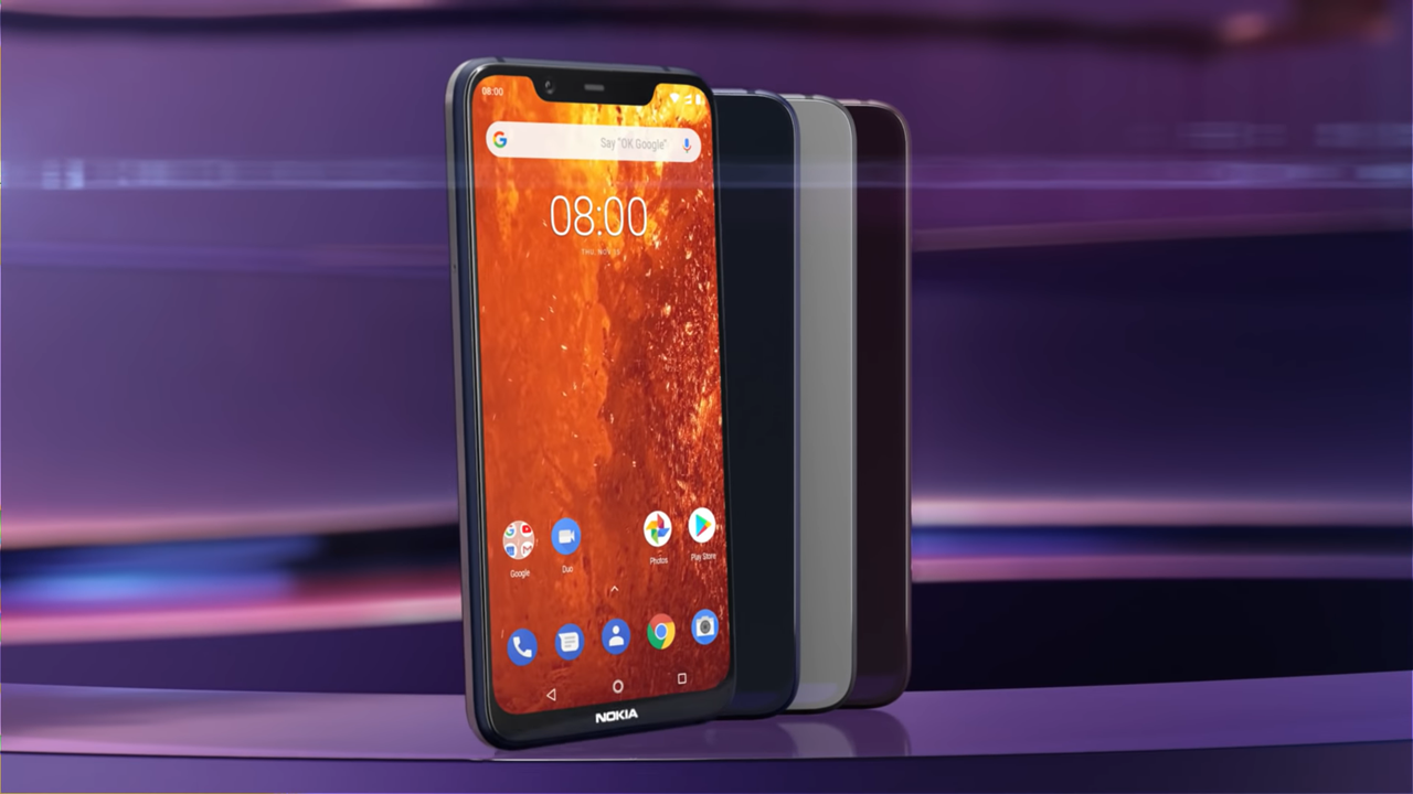 Nokia 8.1 has been released in India at a starting price of INR 26,999