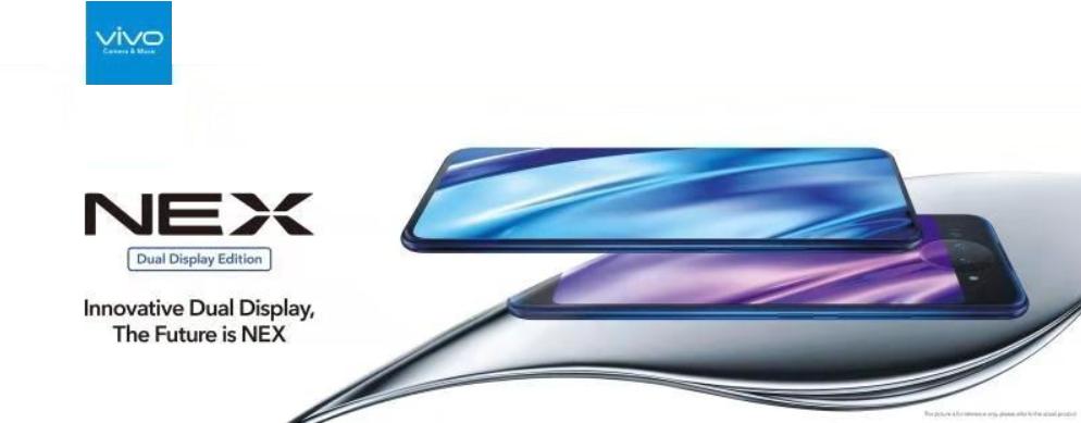 Vivo NEX 'dual display' edition with 10GB RAM unveiled