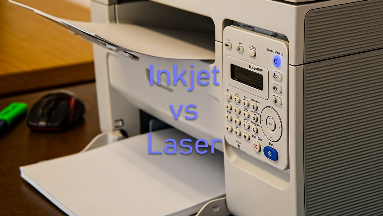 Inkjet printers vs Laser printers: Which one should you buy?