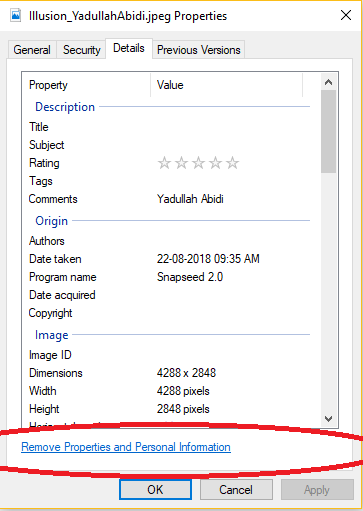 What is EXIF data? How to remove EXIF metadata from a photo?