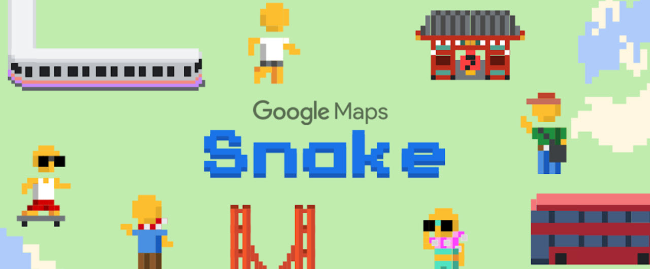 How to play Snake on Google and Google Maps | Candid.Technology