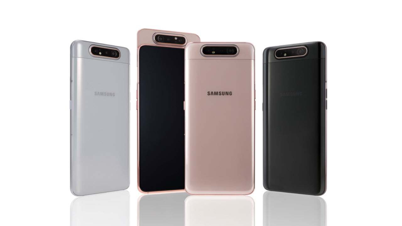 Samsung Galaxy A80 announced: Features, price and availability