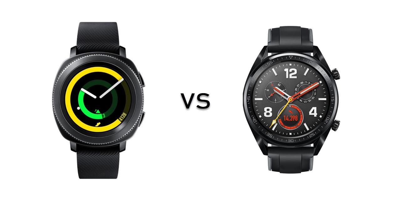Samsung Gear Sport vs Huawei Watch GT Sport: Which one is better?