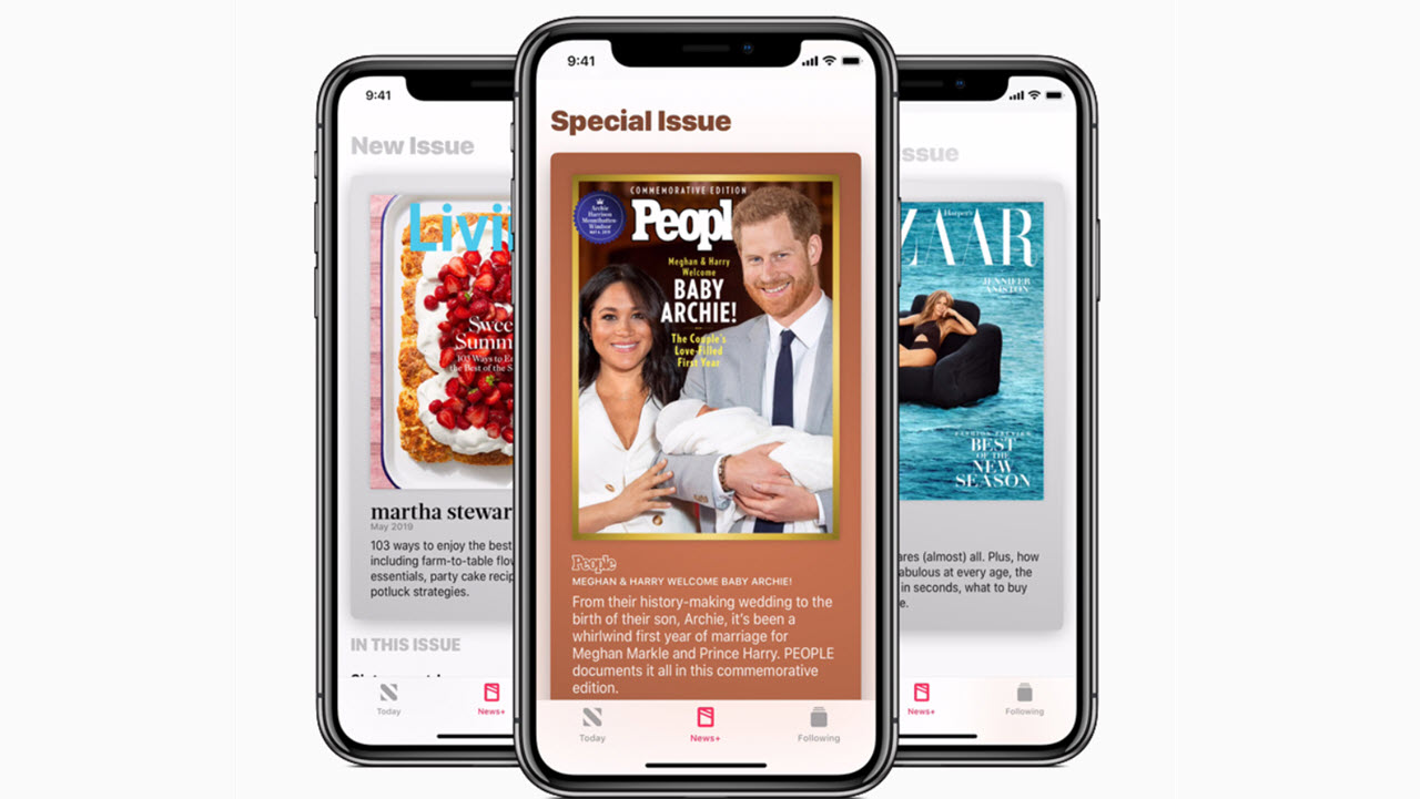Apple News+ readers can now follow publications directly from the app