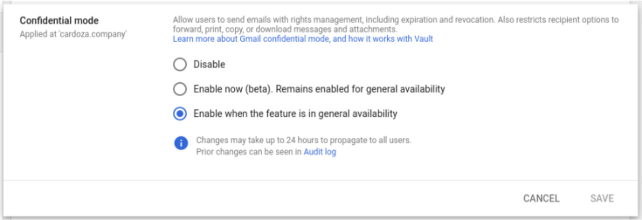 What is Gmail Confidential Mode? How does it function?