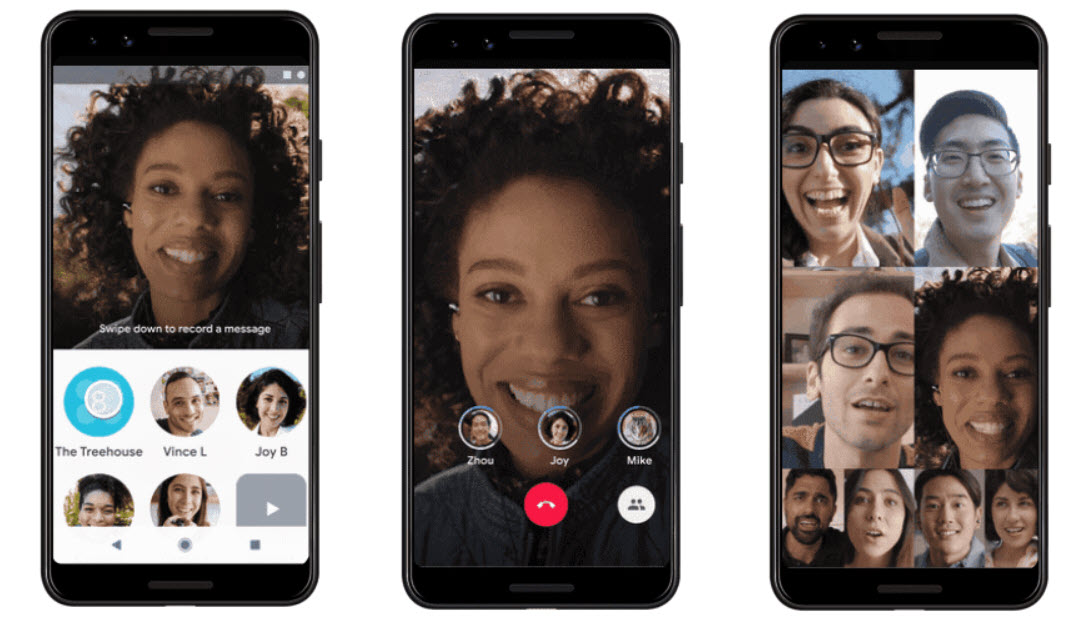 Google Duo updated with group calls for up to 8 users