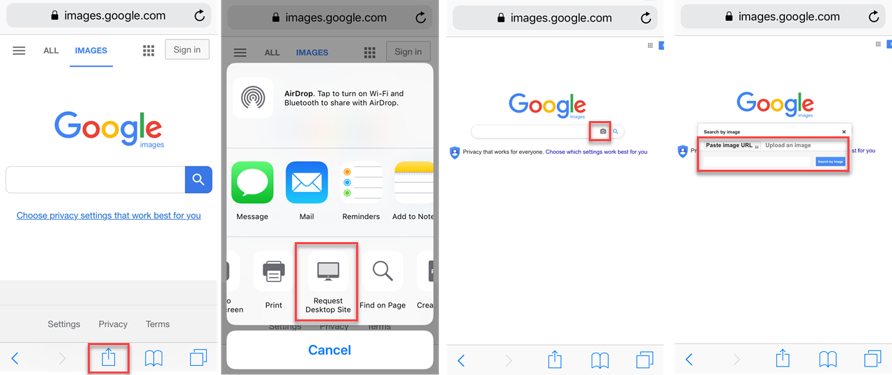 How to reverse search images on PC, Android and iPhone