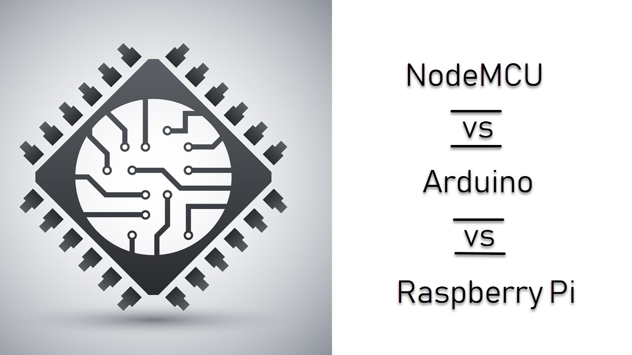 NodeMCU vs Arduino vs Raspberry Pi | Candid.Technology