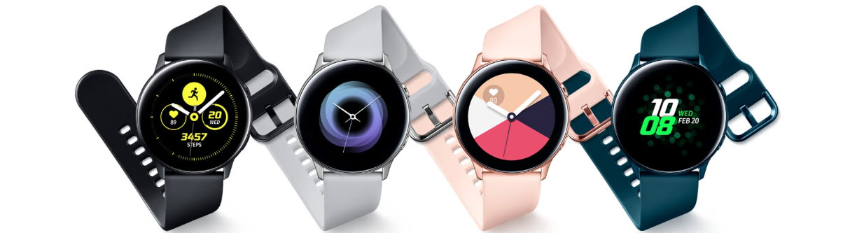 Amazfit Verge 2 vs Galaxy Watch Active vs Fitbit Versa