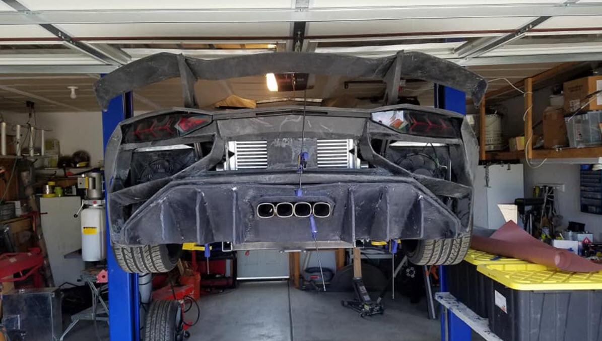 Physicist 3D prints a Lamborghini Aventador for $20,000