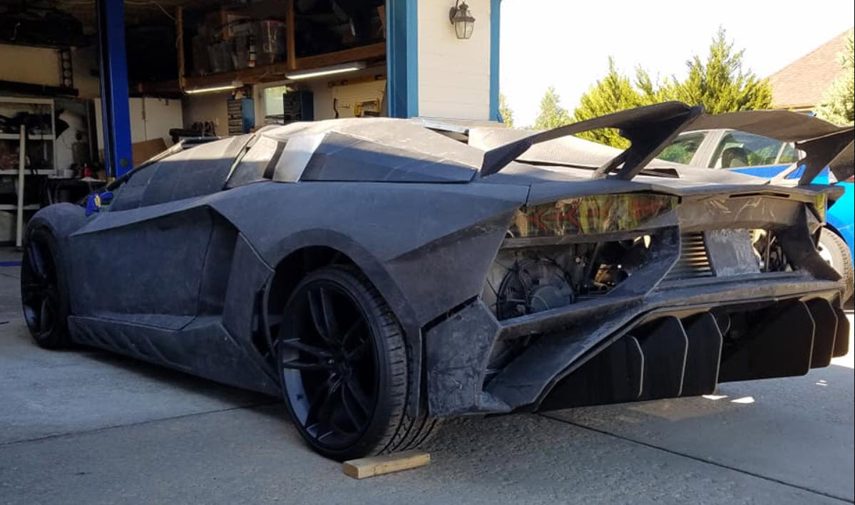 Physicist 3D prints a Lamborghini Aventador for $20,000
