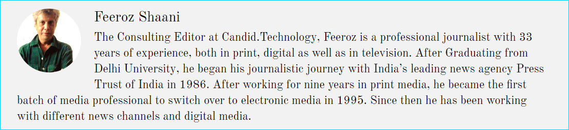 Consulting Editor at Candid.Technology