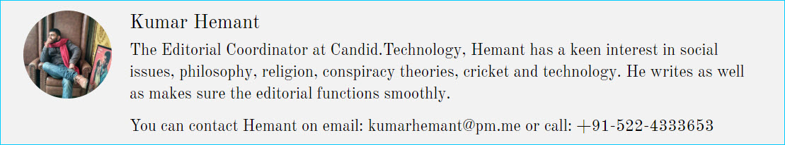 Editorial Coordinator at Candid.Technology