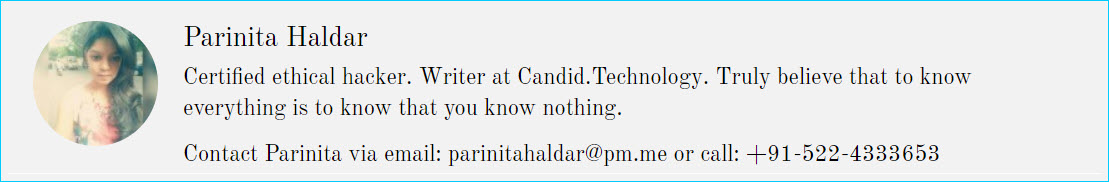 Writer at Candid.Technology