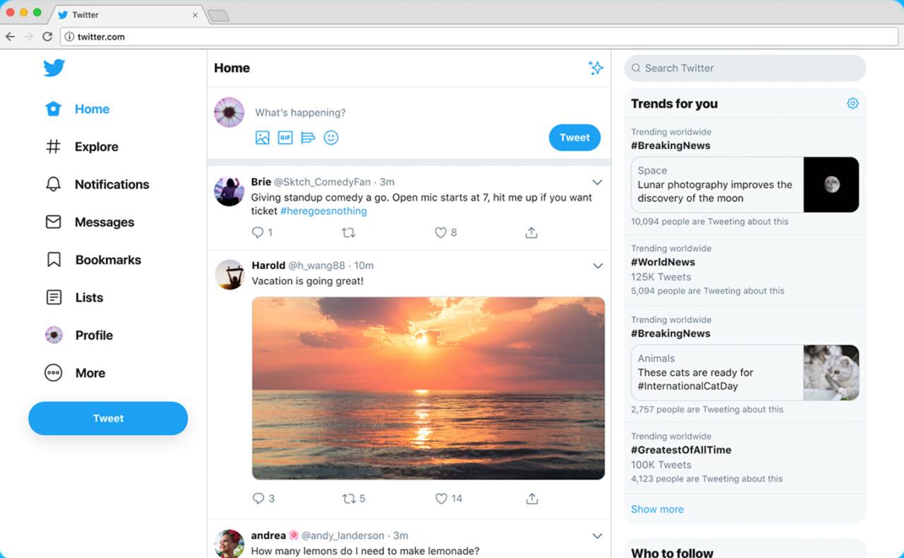 Twitter's web platform revamped: 5 key changes | Candid.Technology