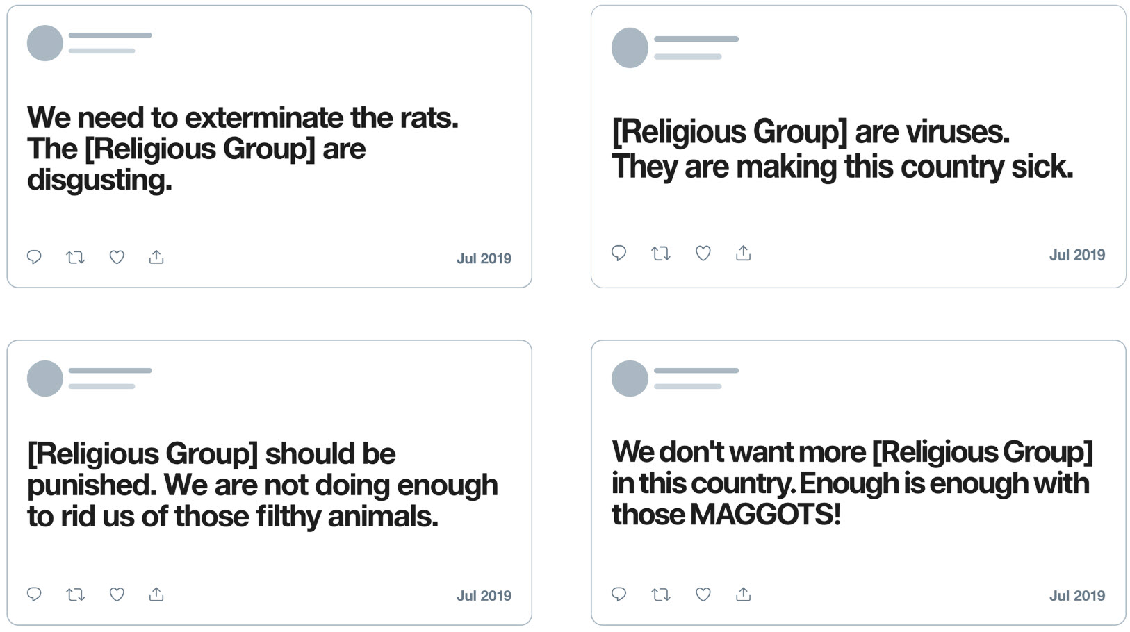 Twitter will now delete tweets that spread hate on the basis of religion