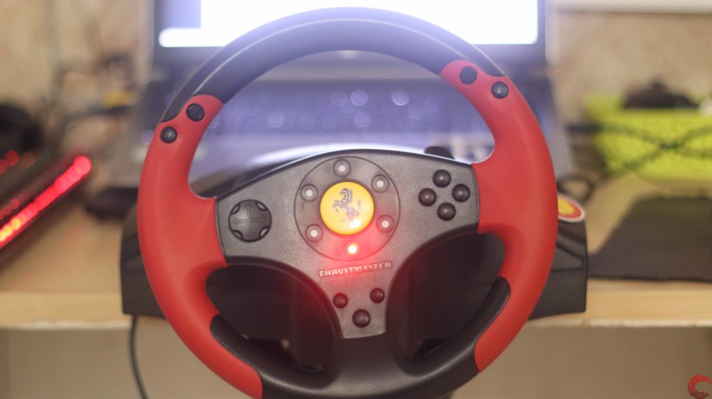 Thrustmaster Ferrari Red Legend Edition Wheel Review For Pc