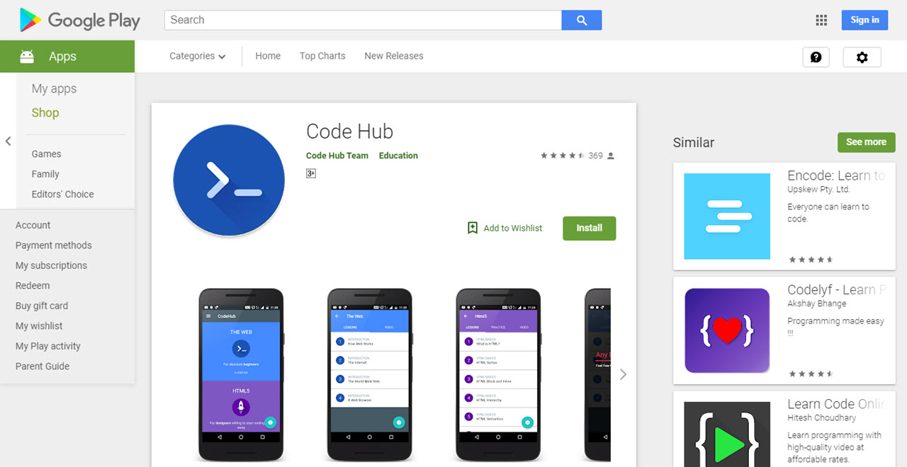 Top 8 apps to learn coding for beginners and advanced